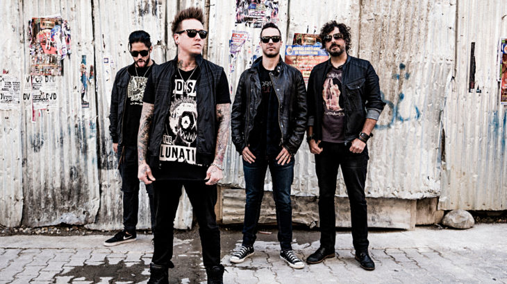 Papa Roach (c) Wizard Promotions