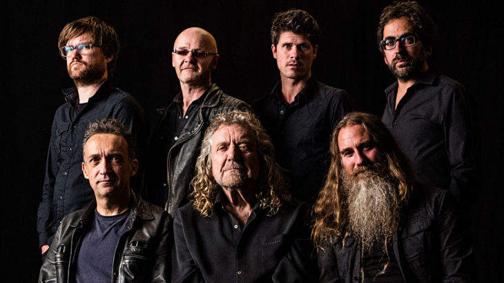 Robert Plant and The Sensational Space Shiferts (c) Wizard Promotions