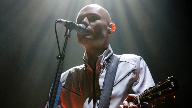 Billy Corgan von den Smashing Pumpkins (c) Warner Music