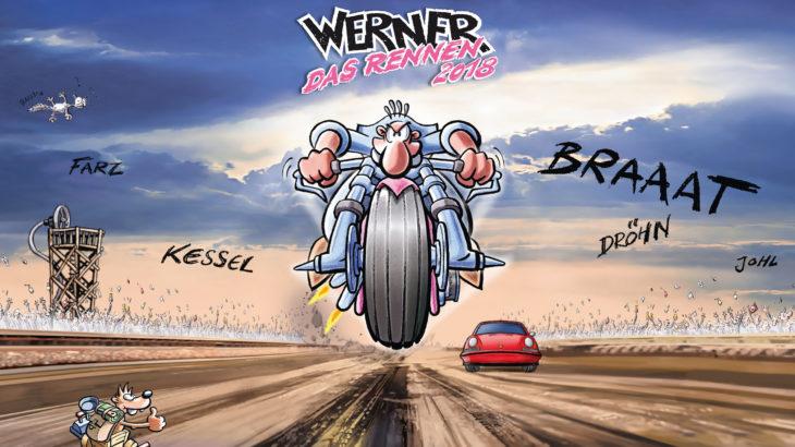 Werner Das Rennen