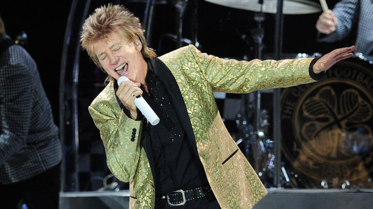 Rod Stewart (c) Lawrence Matheson