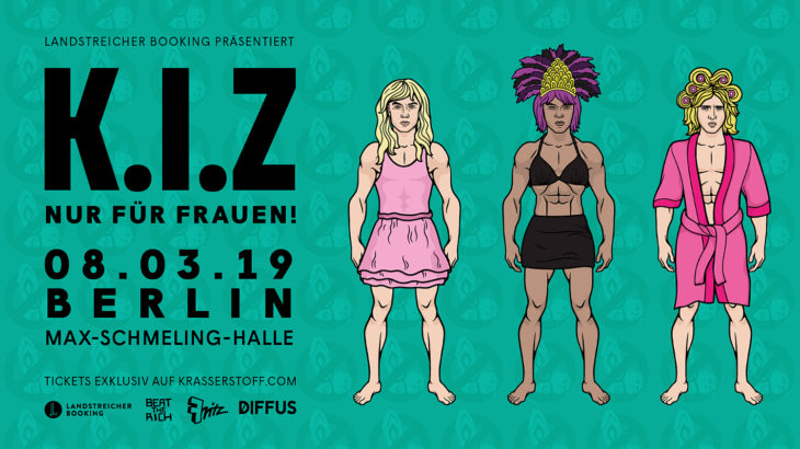 K.I.Z (c) Landstreicher Booking
