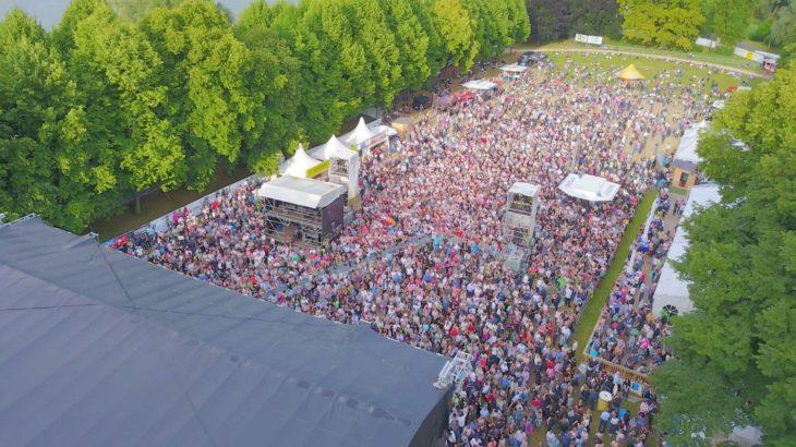 Kunst!Rasen Bonn 2019 mit Sting und Nena