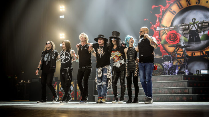 Guns N'Roses (c) Live Nation
